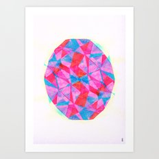 - energy cut - Art Print