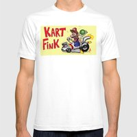 Kart Fink Big Bro! Mens Fitted Tee White SMALL