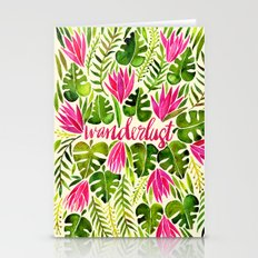 Tropical Wanderlust – … Stationery Cards