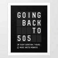 505 Art Print