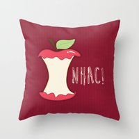 A Apple A Day... Throw Pillow