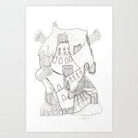 GeometriART 02 Art Print