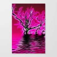 Rising From The Depths Canvas Print