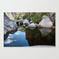 Mirror Of Time Canvas Print