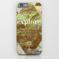 iPhone & iPod Case featuring Explore - I by Speakerine / Florent Bodart