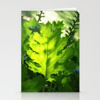 Green Touch Stationery Cards