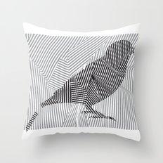 Put a Broken Bird On It! Throw Pillow