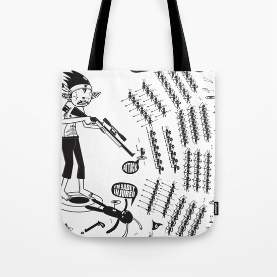 SORRY I MUST RUN - ULTIMATE WEAPON ARROW [FINAL ROUND] Tote Bag