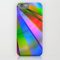 Rainbow Point iPhone 6 Slim Case