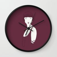 Keep Young And Beautiful Wall Clock