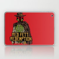 Red Fett Redemption Laptop & iPad Skin