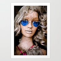 Aged Beauty Art Print