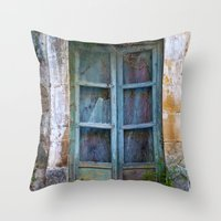 Abandoned Sicilian House in Noto Throw Pillow