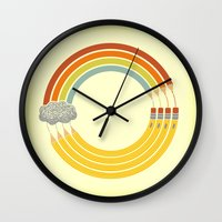 The Infinite Doodle Wall Clock