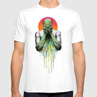 Hide Mens Fitted Tee White SMALL
