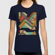 Refactory  Womens Fitted Tee Navy SMALL