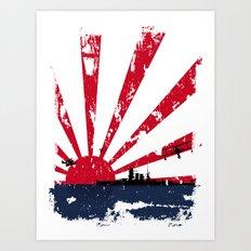 Imperial Japanese Navy Art Print
