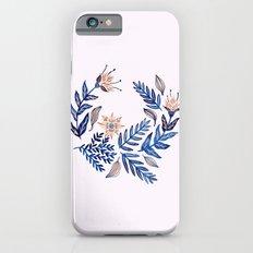 Blue Wreath Slim Case iPhone 6s