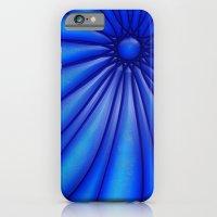Flower Blues iPhone 6 Slim Case