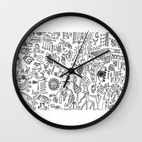 Scattered Wall Clock