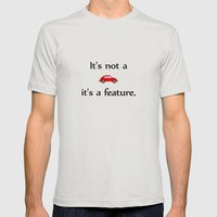 It´s Not A Bug #02 Mens Fitted Tee Silver SMALL