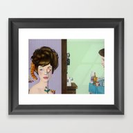 Framed Art Print featuring Glow by Doug Smock