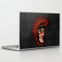 native Laptop & iPad Skins featuring Native by caffeboy