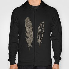 Luxe Feathers Hoody