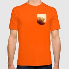 In the calm of dreams Mens Fitted Tee Orange SMALL