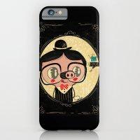 PIGnocchio and the blue fairy / pinocchio pig iPhone 6 Slim Case