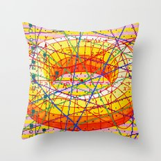 ad infinitum Throw Pillow