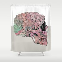 Life In Cycles Shower Curtain