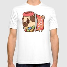 Puglie Poot Loops Mens Fitted Tee White SMALL