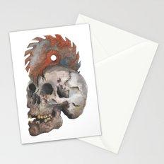 Inked up Skull Stationery Cards