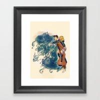 Hey, Little One Framed Art Print