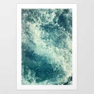 Art Print featuring Water I by Dr. Lukas Brezak