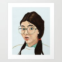 Yearbook 80, Science Lab Art Print