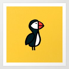 Puffin Bird Art Print