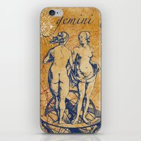 Gemini | Zwilling iPhone & iPod Skin