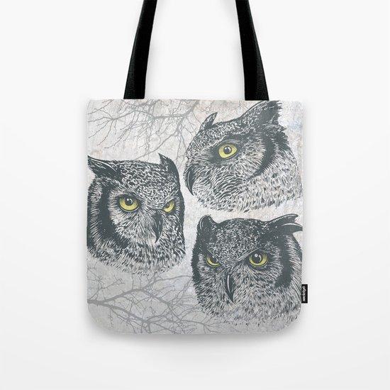 Three Owls Tote Bag
