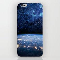 Earth and Galaxy iPhone & iPod Skin