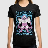 Necromancer  Womens Fitted Tee Tri-Black SMALL