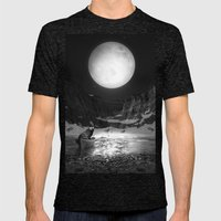 Somewhere You Are Lookin… Mens Fitted Tee Tri-Black SMALL