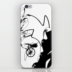 penguin posse iPhone & iPod Skin