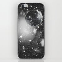Space Pixels iPhone & iPod Skin