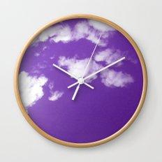 Purple Day Wall Clock