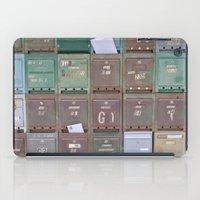 Mailboxes I iPad Case
