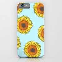 iPhone & iPod Case featuring Sunflowers by Art Tree Designs