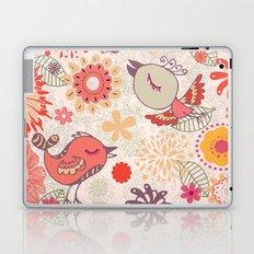 doodle birds in love Laptop & iPad Skin