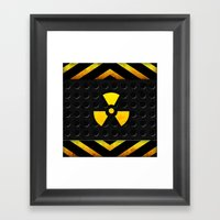 Nuclear Reactor Framed Art Print